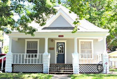 Chickasha OK Single Family Home For Sale: $79,500