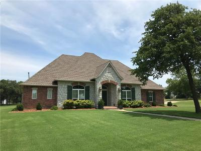 Choctaw Single Family Home For Sale: 16441 Cobblestone Circle