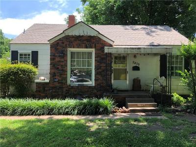 Oklahoma City Single Family Home For Sale: 2436 NW 38th Street