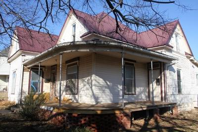 Stroud Single Family Home For Sale: 103 W 5th Street