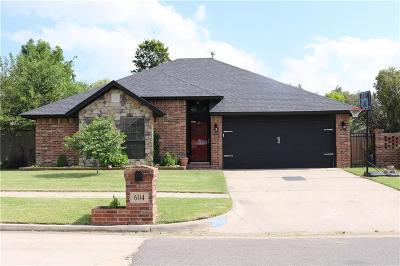 Oklahoma City Single Family Home For Sale: 604 SW 149th Place