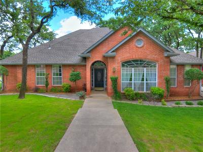 Edmond Single Family Home For Sale: 4 S Crosstimber Trail