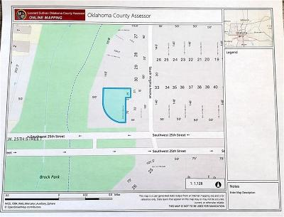 Oklahoma City Residential Lots & Land For Sale: 1555 SW 25th Street