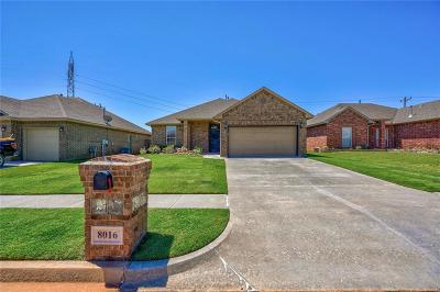 Edmond Single Family Home For Sale: 8016 NW 158th Street