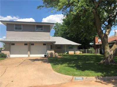 Del City Single Family Home For Sale: 2000 Pybas Lane
