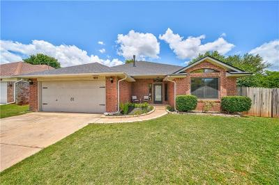 Edmond Single Family Home For Sale: 925 NW 171st Place