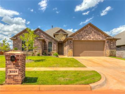 Edmond Single Family Home For Sale: 6321 NW 160th Terrace