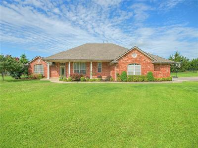 Tuttle Single Family Home For Sale: 7010 Kimberly Drive