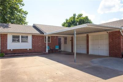 Midwest City Single Family Home For Sale: 1016 W Silver Meadow Drive