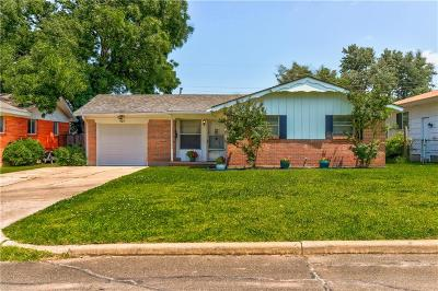 Midwest City Single Family Home For Sale: 925 W Rulane Drive