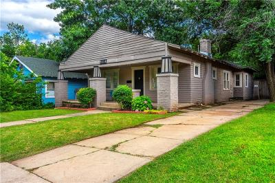 Oklahoma City Single Family Home For Sale: 514 NW 26th Street