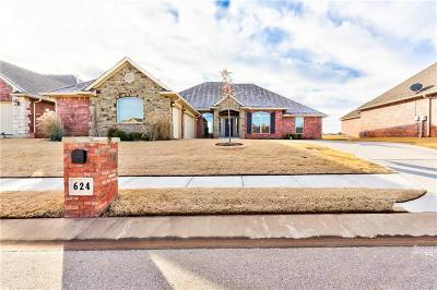 Edmond Single Family Home For Sale: 624 Spavinaw Lane