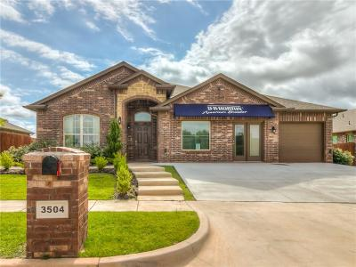 Mustang Single Family Home For Sale: 3504 Molly Drive