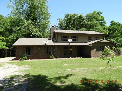 Choctaw Single Family Home For Sale: 15637 Leslie Road