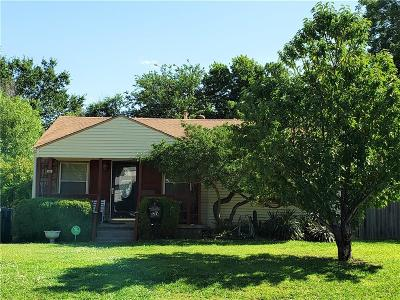 Midwest City Single Family Home For Sale: 211 E Myrtle Drive