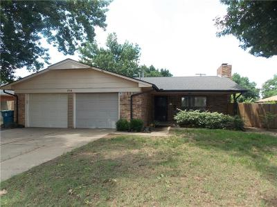 Edmond Single Family Home For Sale: 535 E 29th Street