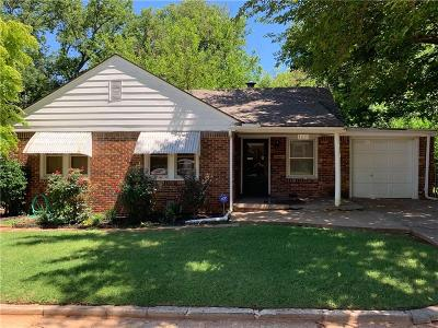 Oklahoma City Single Family Home For Sale: 1621 NW 42nd Place Street