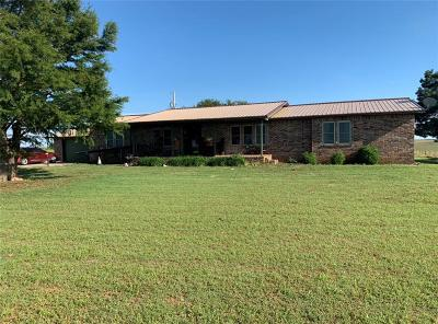Fort Cobb Single Family Home For Sale: 12191 County Road 1350