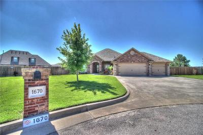 Newcastle Single Family Home For Sale: 1670 Meadow Creek Circle