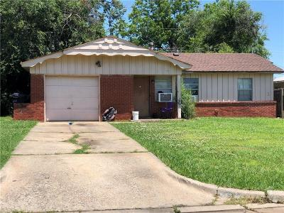Oklahoma City Single Family Home For Sale: 2725 SW 61st Street