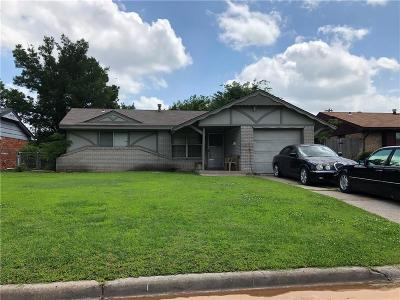 Oklahoma City Single Family Home For Sale: 3208 SW 72nd Street