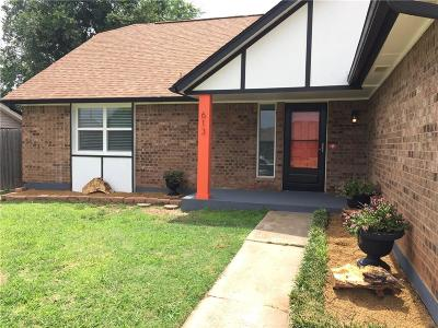 Moore Single Family Home For Sale: 613 S Patterson Drive