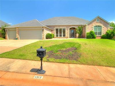 Edmond Single Family Home For Sale: 1313 NW 194th Terrace