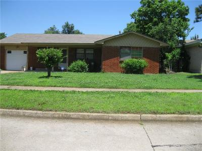 Midwest City Single Family Home For Sale: 9421 NE 14th Street