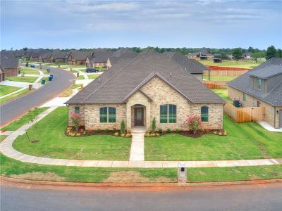 Mustang Single Family Home For Sale: 5525 Ledgestone Drive