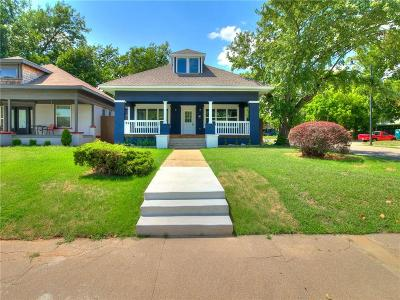 Oklahoma City Single Family Home For Sale: 1629 N Klein Ave Corner