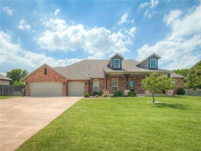 Edmond Single Family Home For Sale: 6922 Ashley Trail