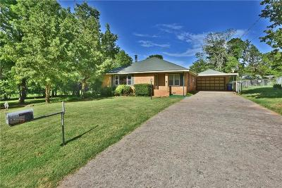 Midwest City Single Family Home For Sale: 900 N Cedar Drive