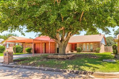Moore OK Single Family Home For Sale: $134,500