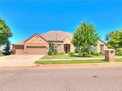 Edmond Single Family Home For Sale: 15225 Claremont Boulevard