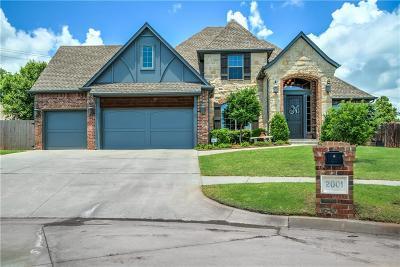 Yukon Single Family Home For Sale: 2001 Stony Brook Drive