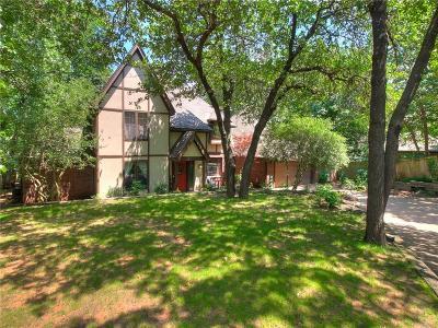 Edmond Single Family Home For Sale: 1400 Fox Lake Lane