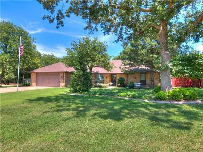 Blanchard OK Single Family Home For Sale: $284,900