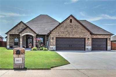 Tuttle Single Family Home For Sale: 1417 Antler Ridge