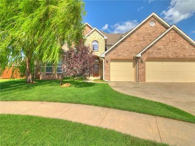 Edmond Single Family Home For Sale: 17120 Kemble Lane