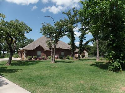 Blanchard OK Single Family Home For Sale: $538,800