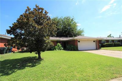 Midwest City Single Family Home For Sale: 424 W Douglas Drive