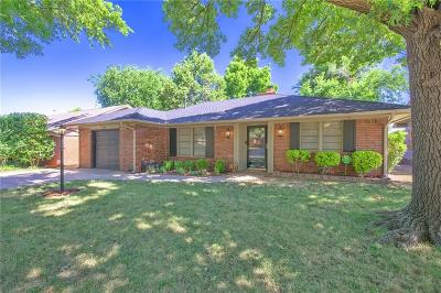 Oklahoma City Single Family Home For Sale: 2321 NW 54th Street