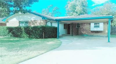 Bethany Single Family Home For Sale: 8133 NW 28th Terrace