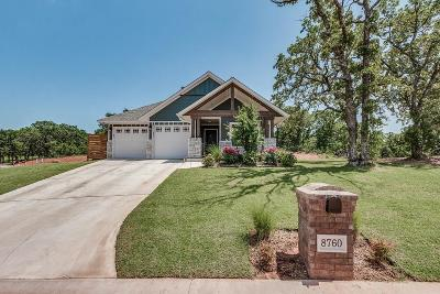 Guthrie Single Family Home For Sale: 8760 Overlook Drive