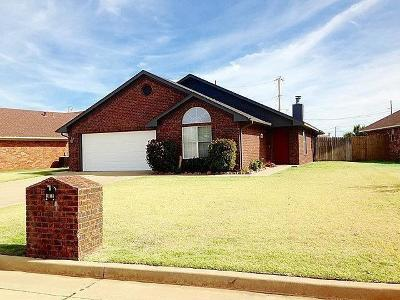 Altus Single Family Home For Sale: 2812 N Towne Drive