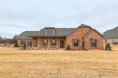 Blanchard OK Single Family Home For Sale: $236,900