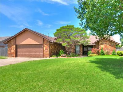 Yukon Single Family Home For Sale: 4512 Skytrail Court