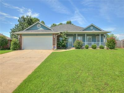 Mustang Single Family Home For Sale: 560 S Ashley Court Drive