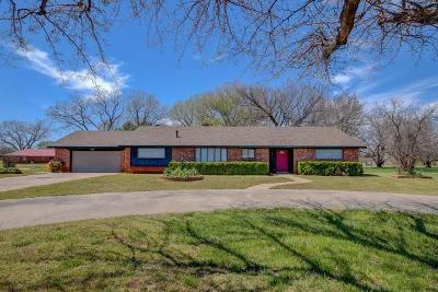 Chickasha Single Family Home For Sale: 2278 County Street 2815