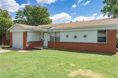 Altus Single Family Home For Sale: 1042 Dill Street